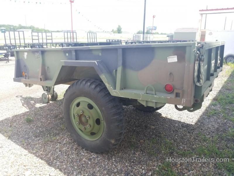 "1968 USAR 110"" x 74"" Utility Trailer"