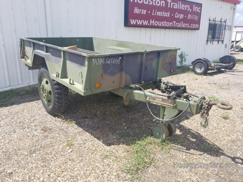 "1968 USAR 110"" x 74"" Utility Trailer CO-1040"