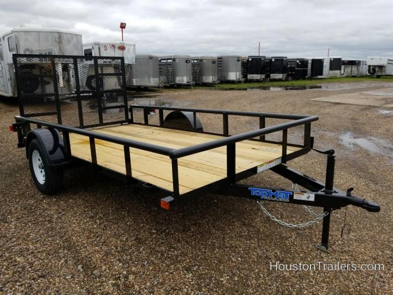 2019 Top Hat Trailers 12' DSP Utility Trailer TH-153