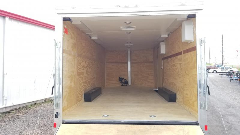 2017 Cargo Mate Trailers 20' X 8.5' Enclosed Car / Racing Trailer FR-21