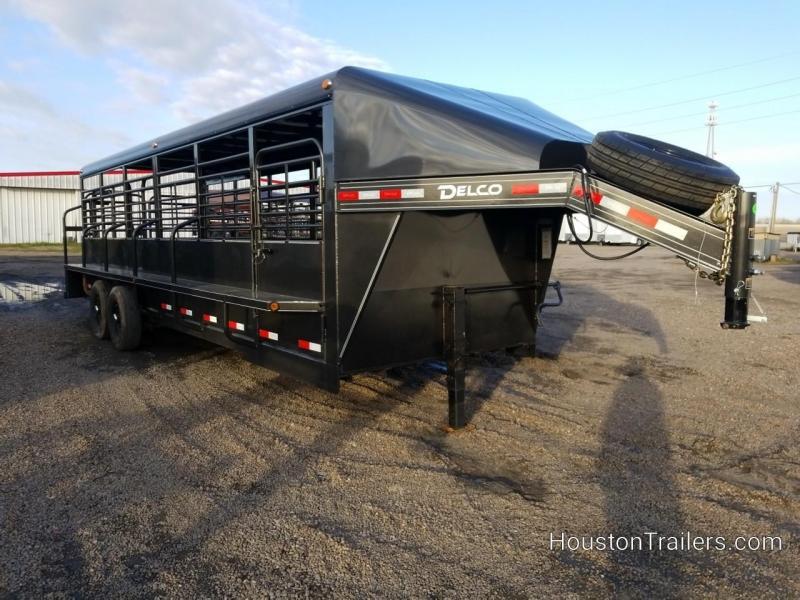 2019 Delco Trailers GN Premium 14k Livestock Trailer DEL-46
