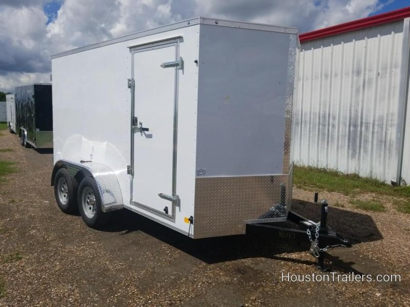2019 Cargo Mate 6' x 12' TA2 Enclosed Cargo Trailer FR-63