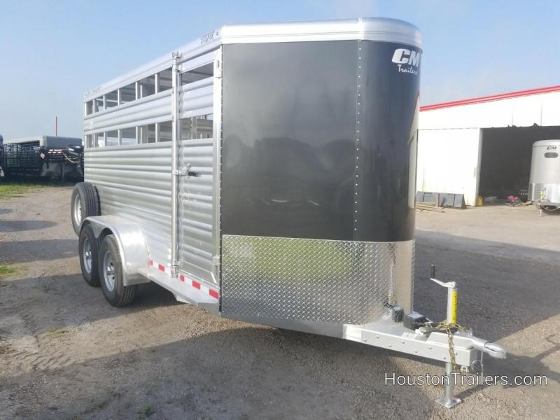 2019 CM Stocker ALV 16' Livestock / Cattle Trailer CM-62