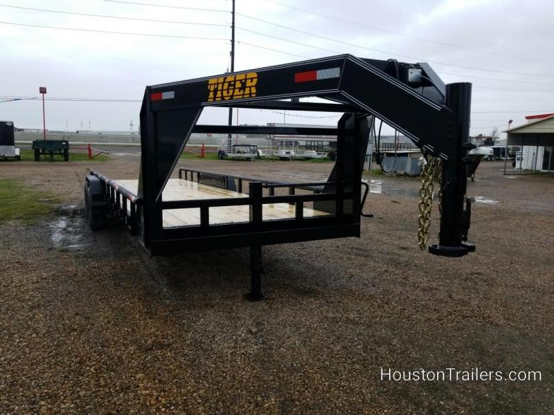 2019 Tiger Trailers 24' Lowboy Equipment Trailer TI-57