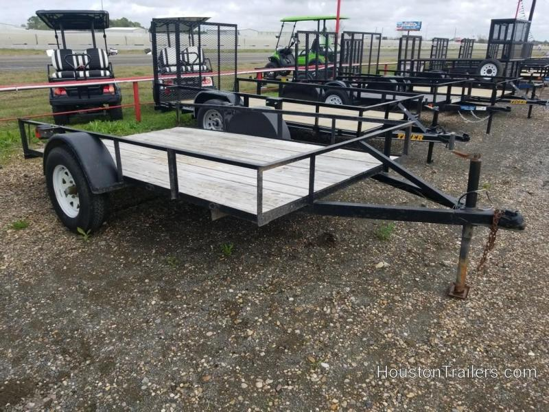 2000 Homemade 6'X 10' Utility Trailer 8087
