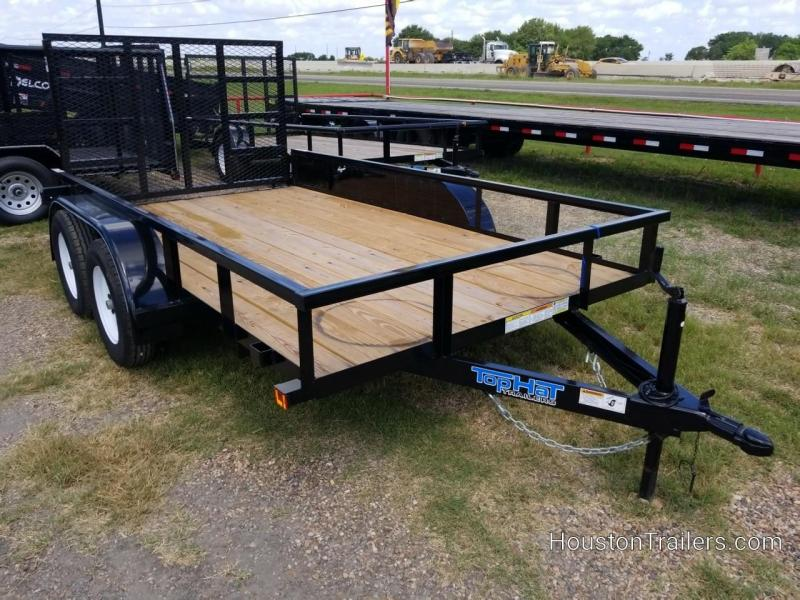 """2019 Top Hat Trailers 12' x 77"""" LDX Utility TH-213"""