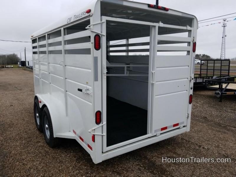 2018 CM Trailers Durango 3 Horse Combo / livestock Trailer CM-76