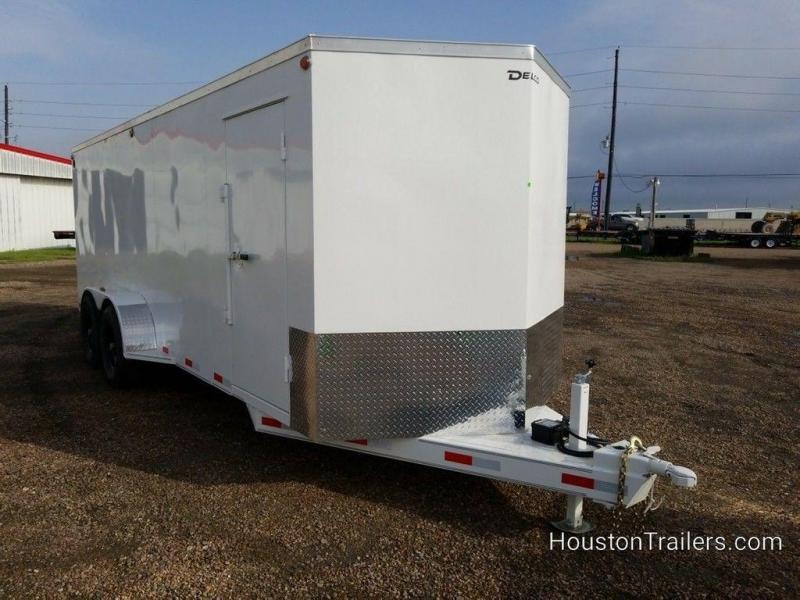 "2019 Delco Trailers 6'8"" x 20' Enclosed Cargo Trailer DEL-76"