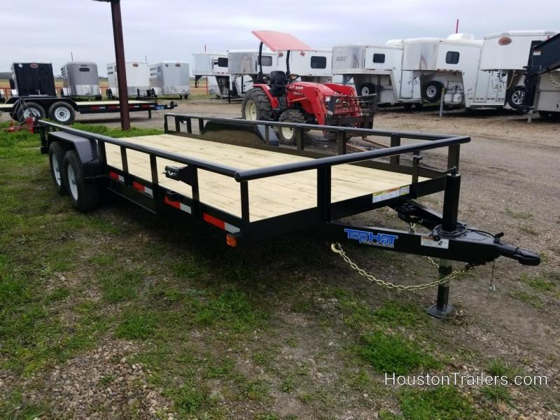 2019 Top Hat Trailers 20' HP Utility Trailer TH-166