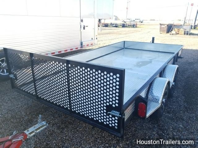 "2017 Homemade 14' x 78"" Utility Trailer CO-1026"
