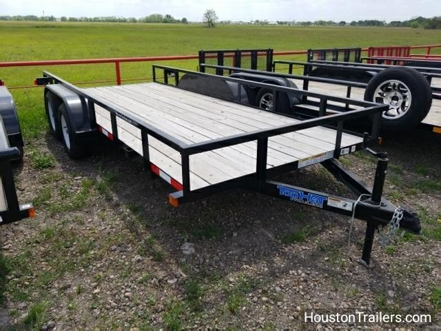2017 Top Hat Trailers 16' x 6.5' LDT Utility TH-21