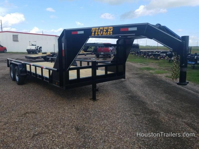 2018 Tiger 20' Lowboy Equipment Trailer TI-25