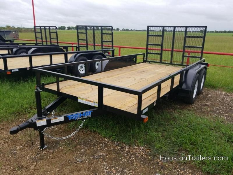 "2019 Top Hat Trailers LDT 14' x 77"" Utility Trailer TH-140"