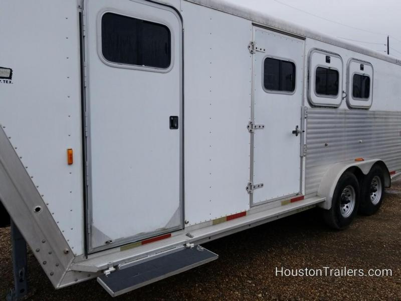 2000 Exiss Trailers XT/306 3 Horse Trailer CO-1056
