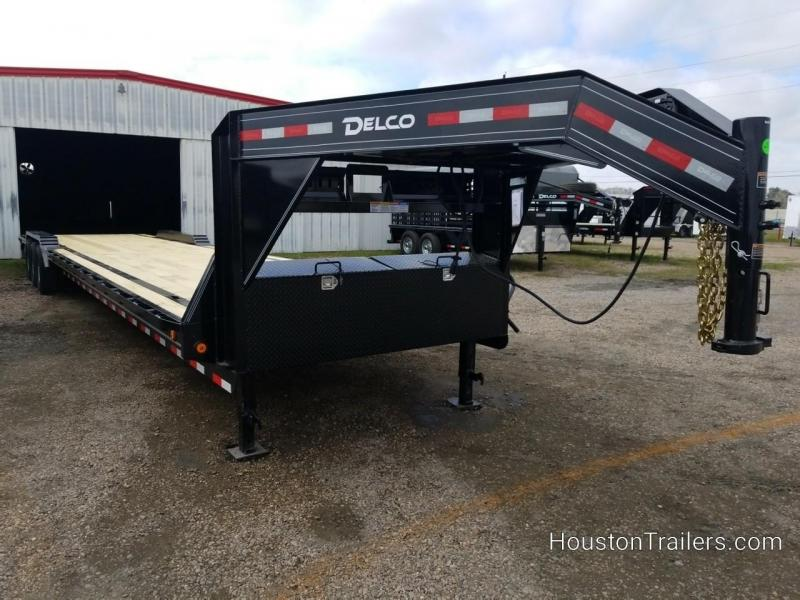 2019 Delco Trailers 40' Drive over fenders Car / Racing Trailer DEL-50