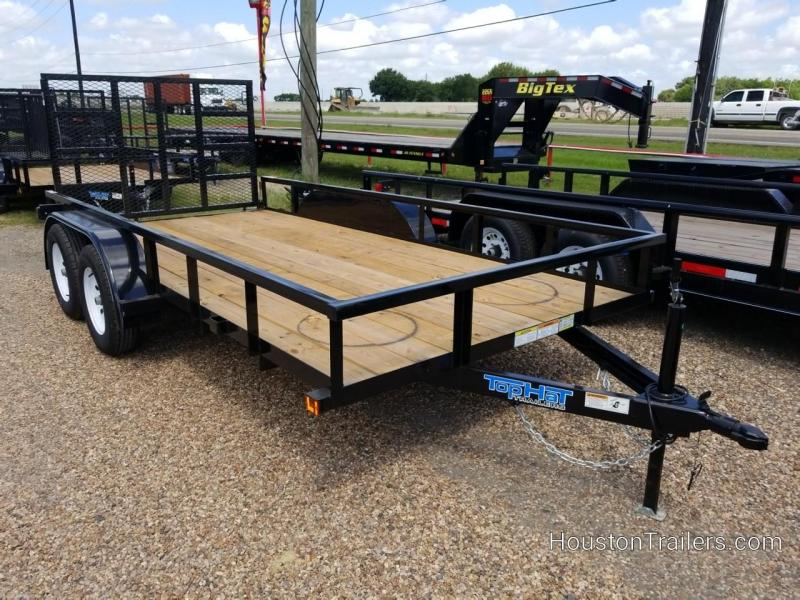 """2019 Top Hat Trailers 14' x 77"""" LDX Utility Trailer TH-214"""