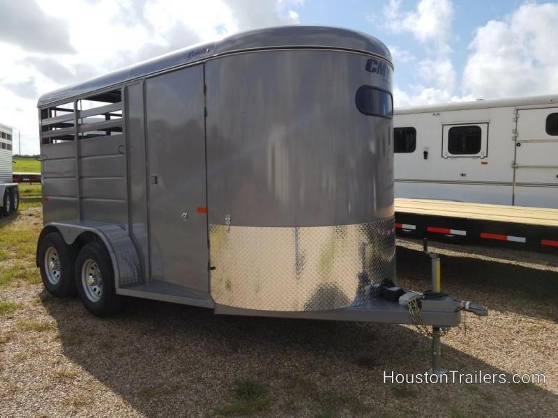 2020 CM Trailers 2H Dakota 7k Horse Trailer