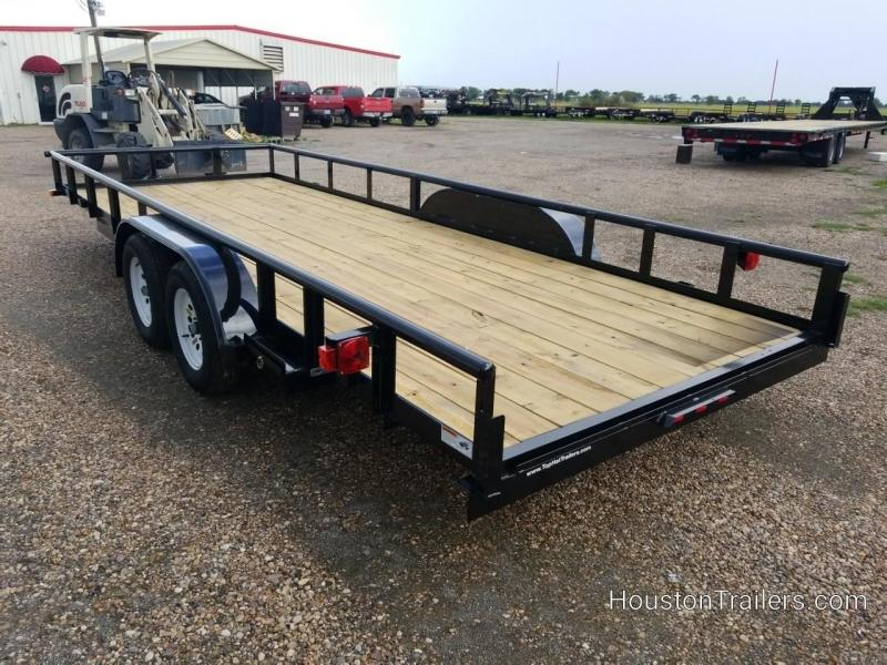 """2019 Top Hat Trailers 20' x 83"""" MP Utility Trailer TH-147"""
