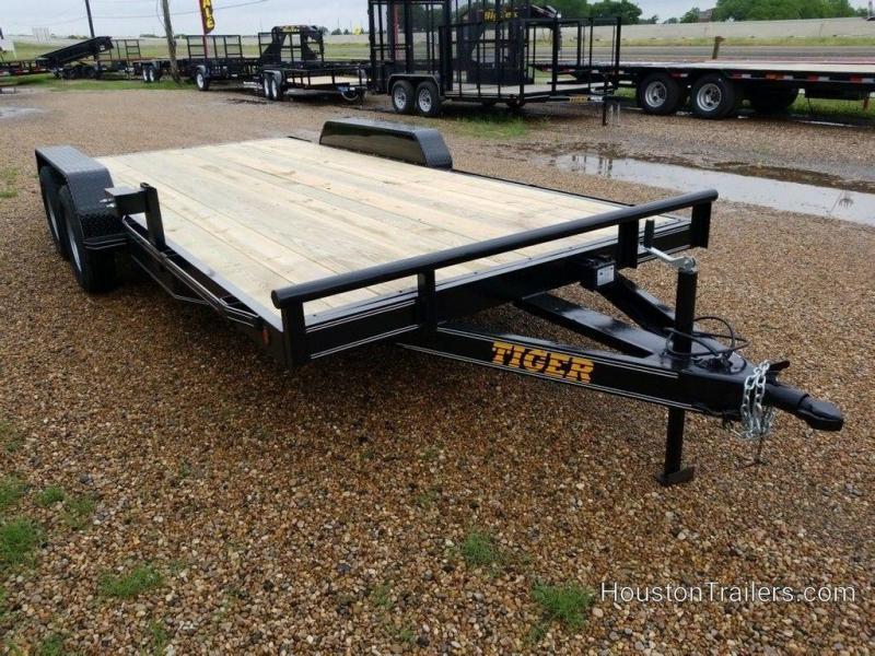 """2019 Tiger Car Hauler 83"""" x 18' Wood Floor TI-61 in Ashburn, VA"""