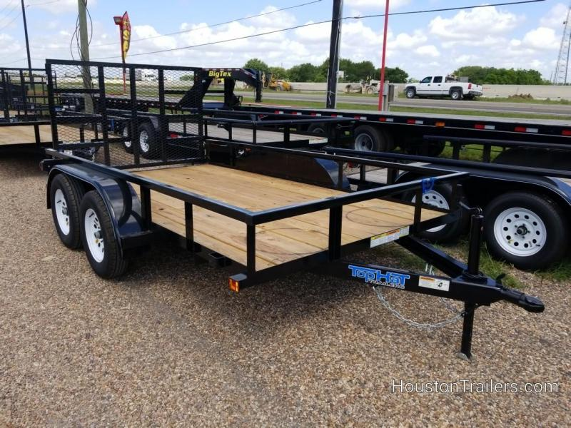 """2019 Top Hat Trailers 12' x 77"""" LDX Utility Trailer TH-212"""