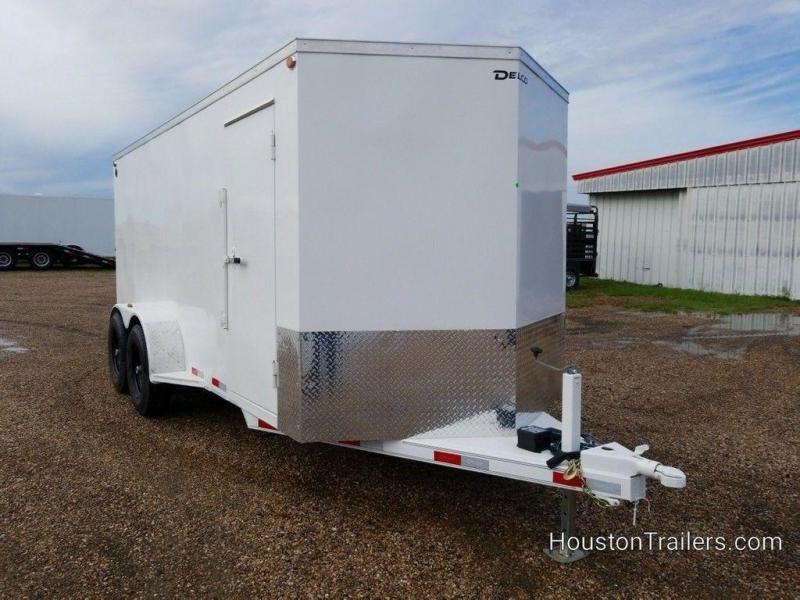"""2019 Delco Trailers 6'8"""" x 16 Enclosed Cargo Trailer DEL-74 in Ashburn, VA"""