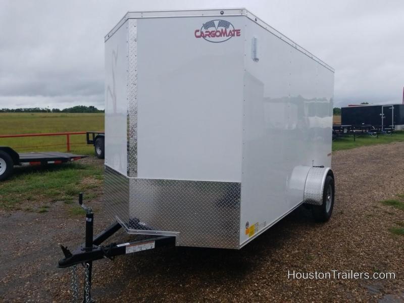 2019 Cargo Mate12' x 6' Enclosed Cargo Trailer FR-58