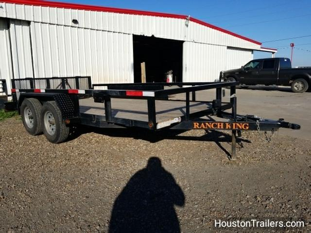 2015 Ranch King Trailer 14' Utility Trailer 8051