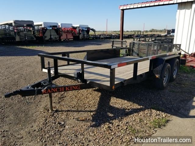 2015 Ranch King Trailer 14' Utility Trailer 8051