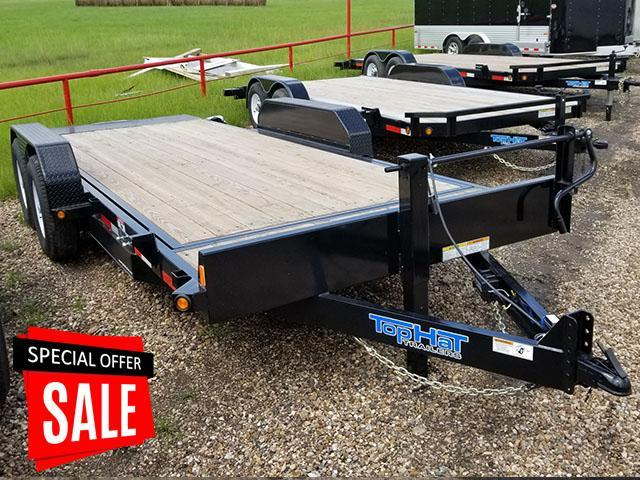 2017 Top Hat Trailers TDS 20' x 7' Equipment 14k TH-58