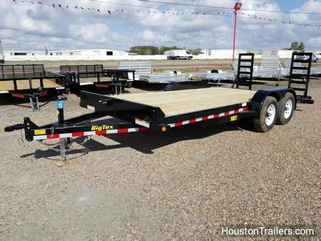 "2018 Big Tex Trailers 10ET 18' X 83"" Equipment Trailer BX-112"