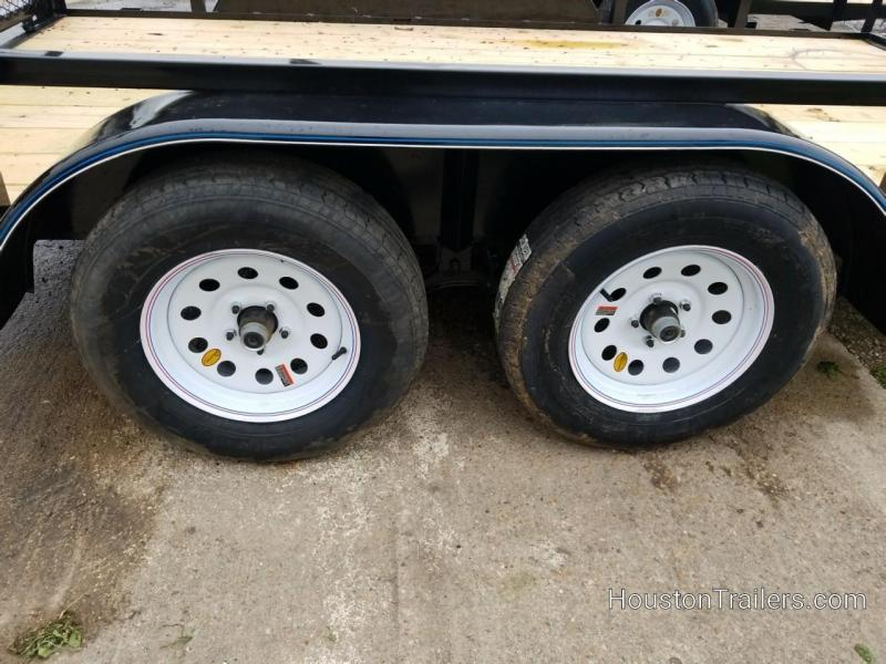 2019 Top Hat Trailers 12' LDT Utility Trailer TH-171