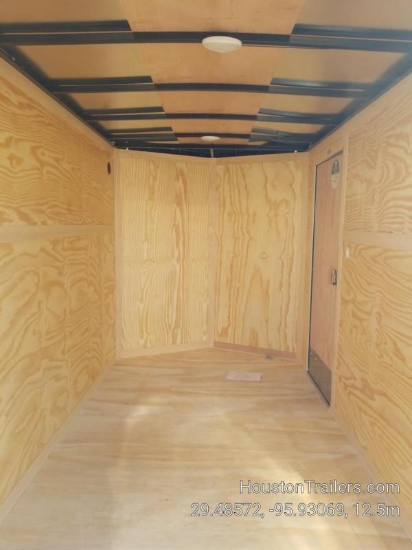 2019 Cargo Mate 10' x 6' Enclosed Cargo Trailer FR-67