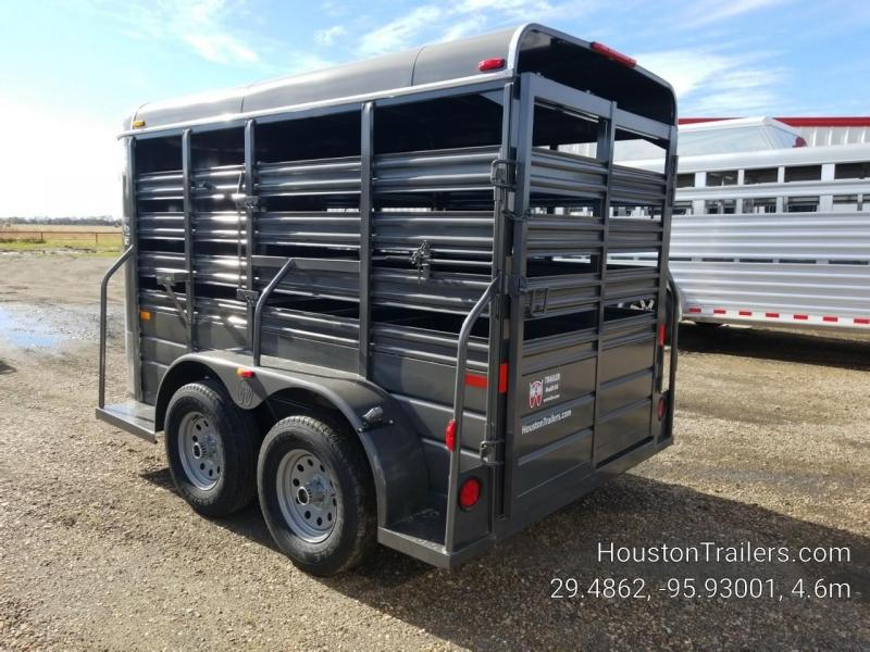 2019 W-W Trailer 12' x 5' All Around Livestock Trailer WW-102