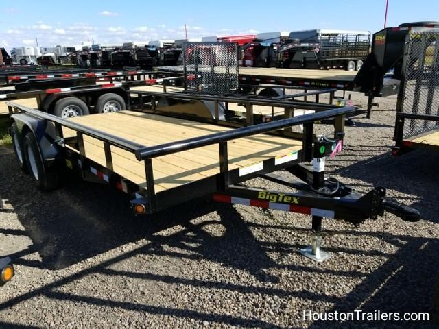 2018 Big Tex Trailers 16' x 7' 10PI Equipment Trailer BX-125