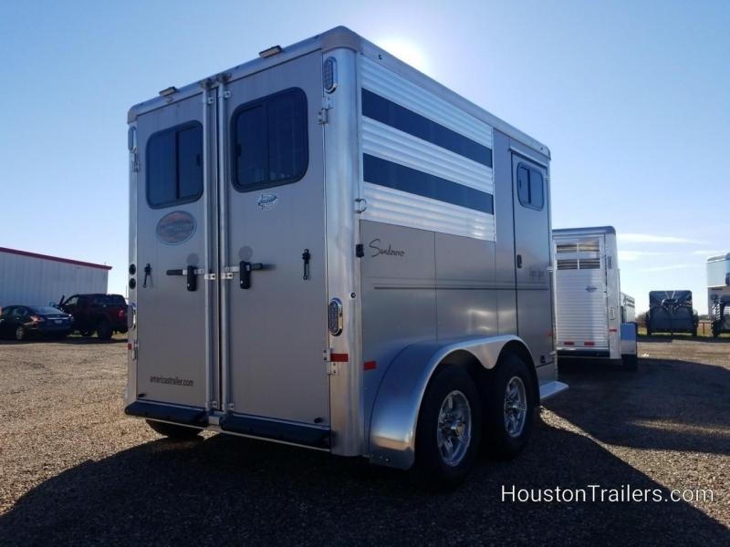 2019 Sundowner Trailers Super Sport 2 Horse Trailer SD-117