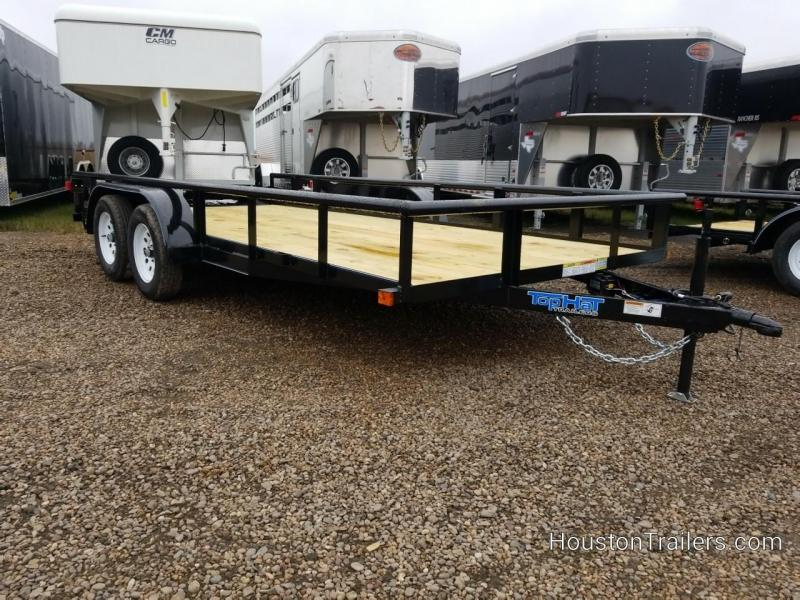 2019 Top Hat Trailers 16' MP Utility Trailer TH-158