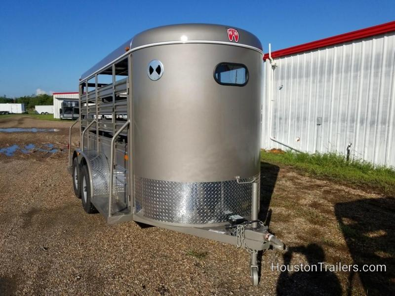 2019 W-W Trailer 14' x 5' All-Around Livestock Trailer WW-100