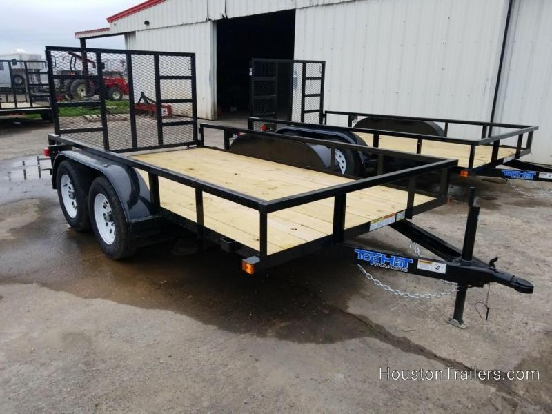 2019 Top Hat Trailers 12'  LDT Utility Trailer TH-168