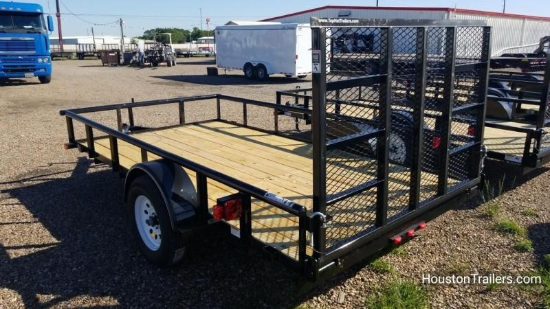 "2018 Top Hat Trailers 12' x 77"" DSP Utility Trailer TH-130"
