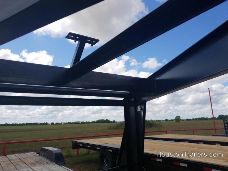 2017 Texas Trailers 18' Low Boy Equipment Trailer CO-1044