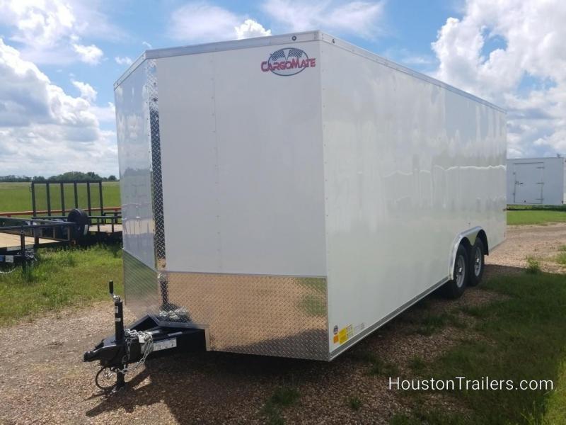 2019 Cargo Mate 8.5' x 20'  Enclosed Cargo Trailer FR-62