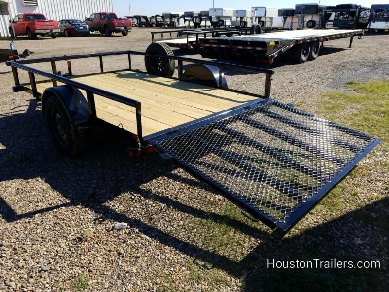 """2019 Big Tex Trailers 10x77"""" 35SA Utility Trailer BX-166"""
