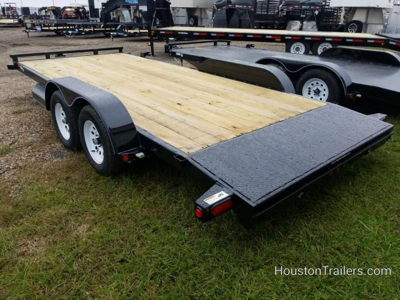 2019 Top Hat Trailers 18' DCH Car / Racing Trailer TH-156