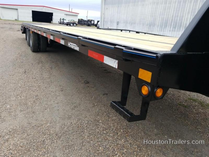 2019 Top Hat Trailers 32' GN240 Flatbed Trailer TH-164