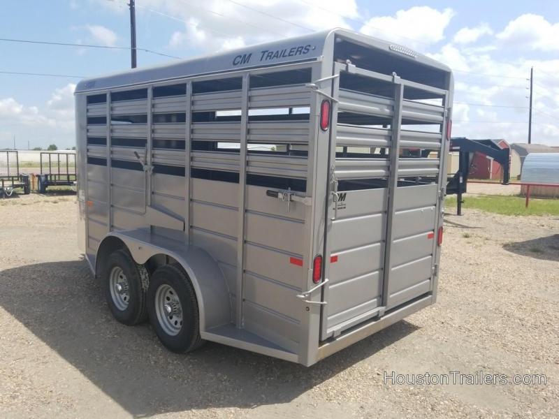 2019 CM 14' Stocker Livestock Cattle Trailer CM-58