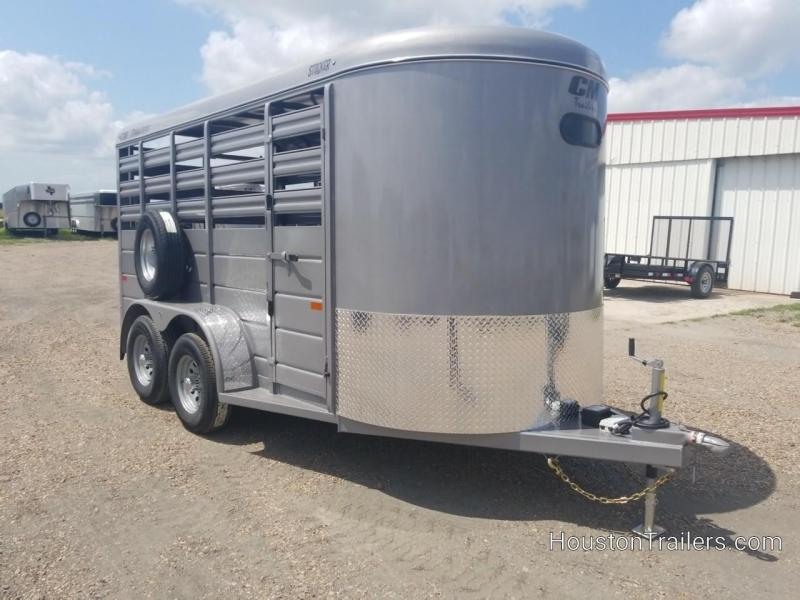 2019 CM 14' Stocker Livestock Cattle Trailer CM-58
