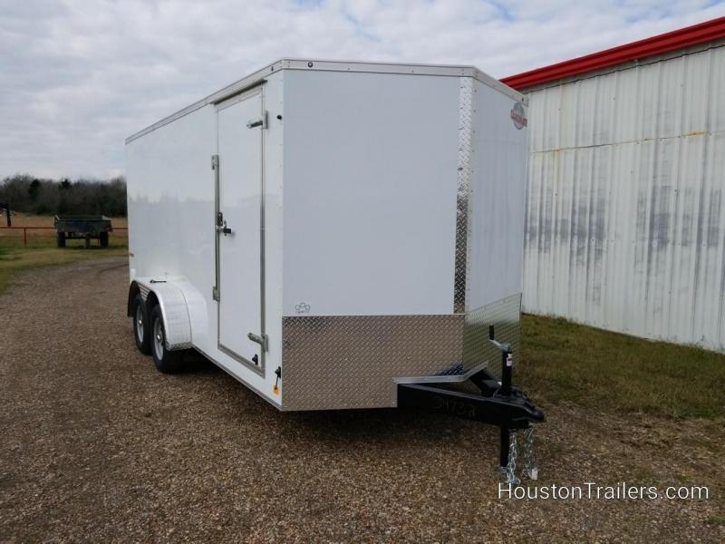 2019 Cargo Mate 7 x 16 Enclosed Cargo Trailer FR-74