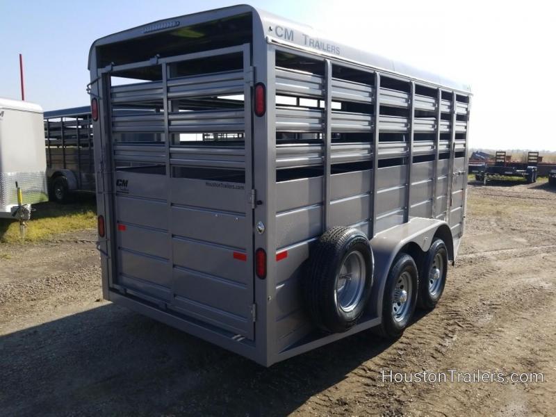2019 CM Stocker 16' x 6' Livestock Trailer CM-74