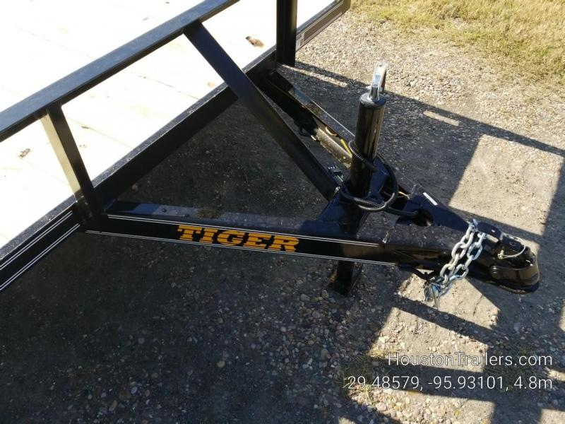 "2019 Tiger 12' x 77"" SA Utility Trailer TI-32"