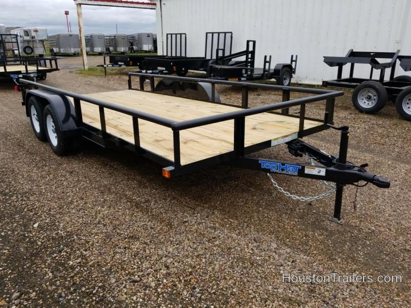 2019 Top Hat Trailers 16' MP Utility Trailer TH-151